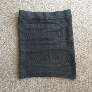 Garage Skirts - Garage gray sweater skirt